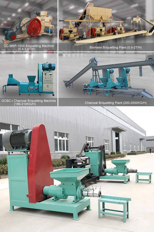 Biomass Charcoal Briquette Machine Setting Up A Bio-briquette Project
