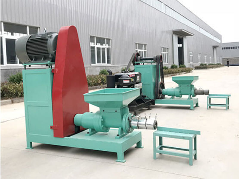 New Energy Mechanism Charcoal Charcoal Briquette Extruder Machine