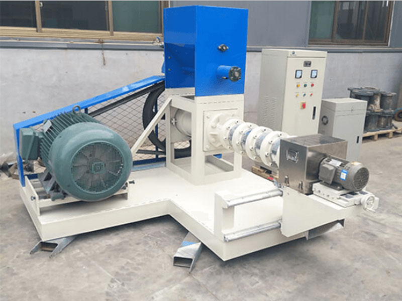 Dry Type Floating Fish Feed Pelletizer For Tilapia