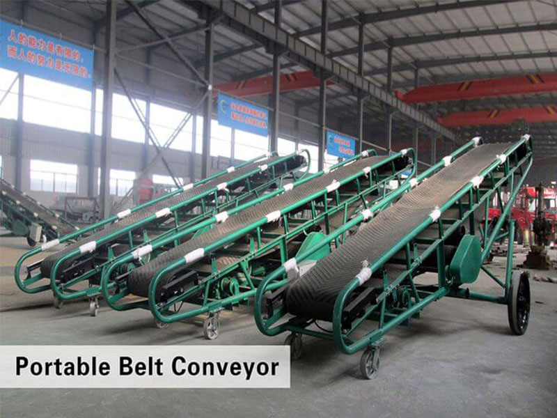 Belt Conveyor High Quality Fertilizer Conveyor Machine Supplier