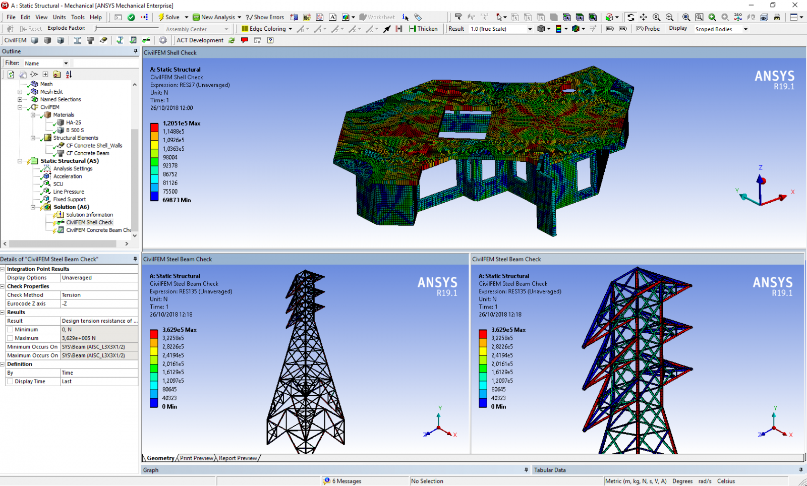 Release of CivilFEM® APPs for ANSYS® Workbench™ | The Engineering Daily