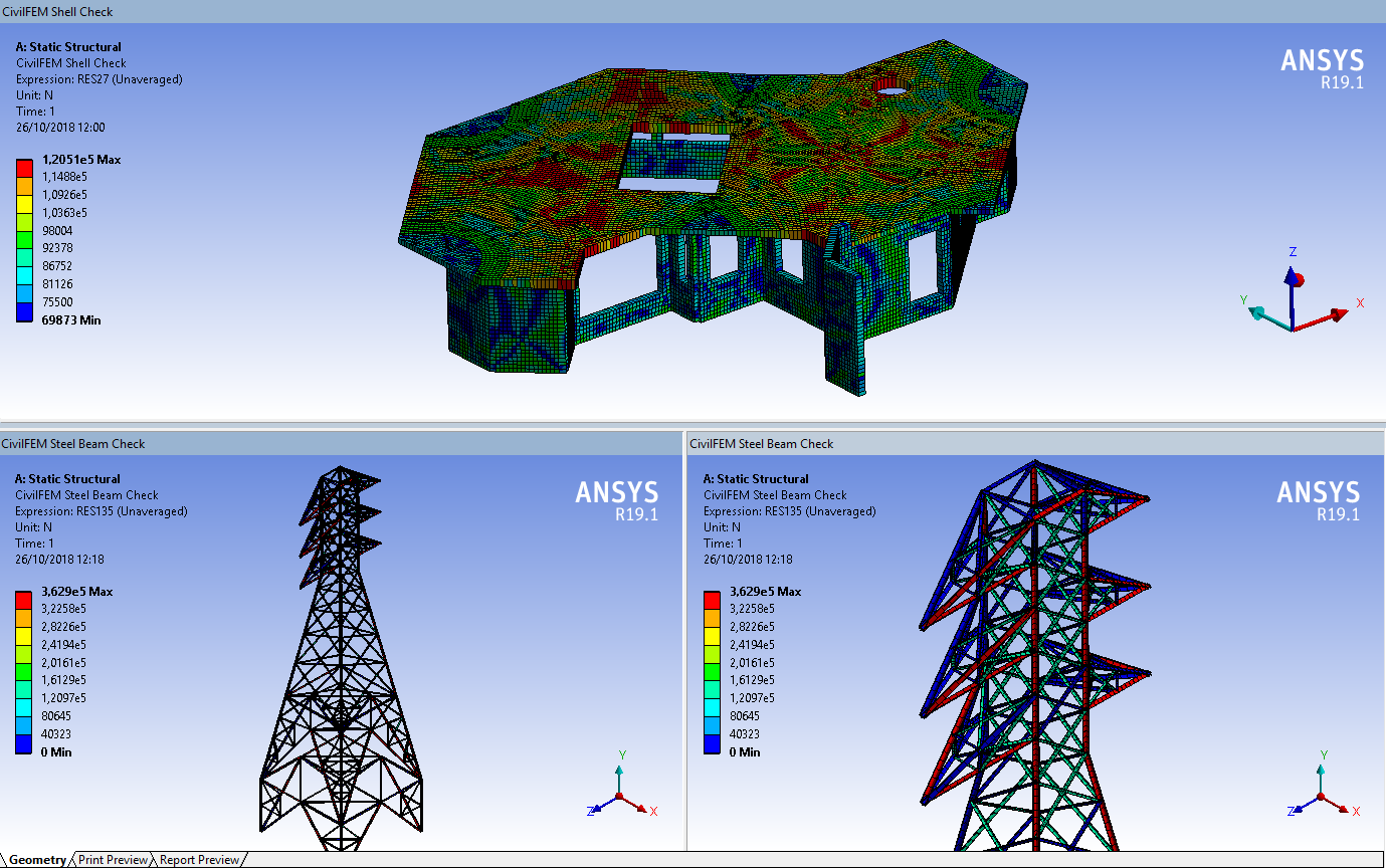CivilFEM® APPs for ANSYS® Workbench™