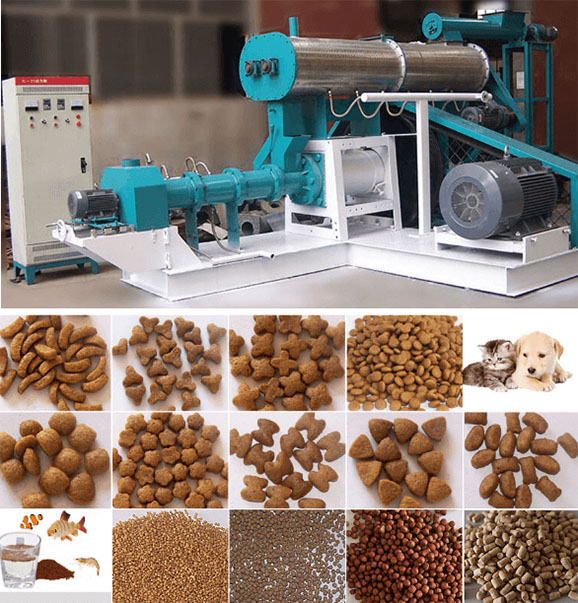 Fish Feed Extruder In India Floating Fish Feed Pellet Machine On Sale