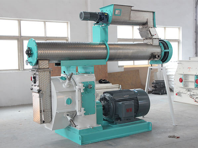 A Professional Small Animal Feed Pellet Plant Feed Pellet Mill Supplier