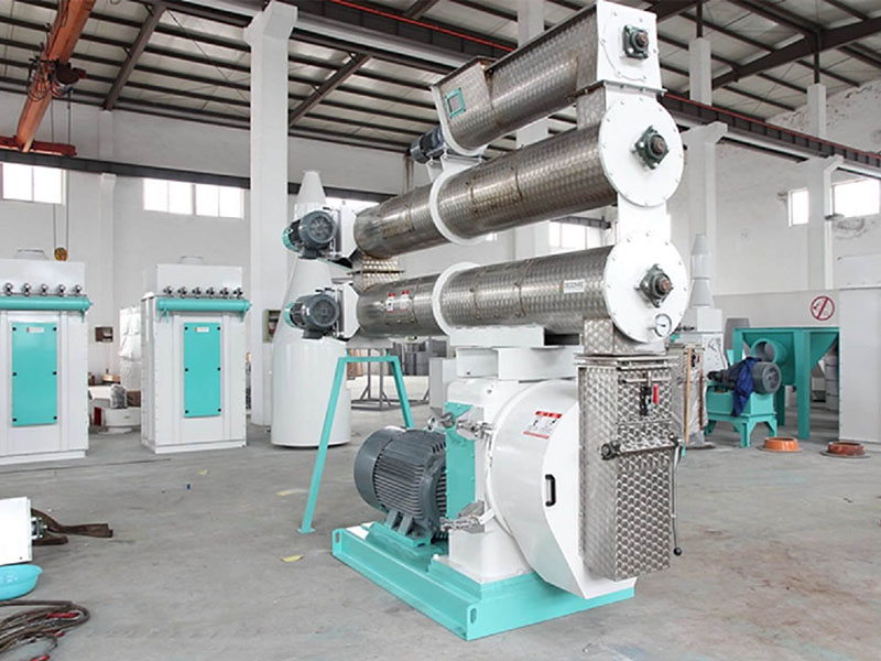 Flat Die Feed Pellet Machine Type Of The Pellet Making Machine
