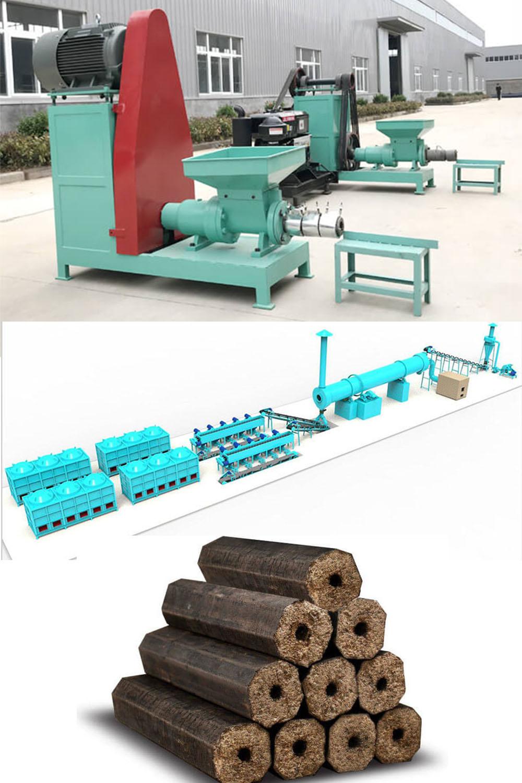 Sawdust Charcoal Briquette Machine Making Sawdust Briquettes