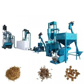 Animal Feed Machine Processes Feed Pellets