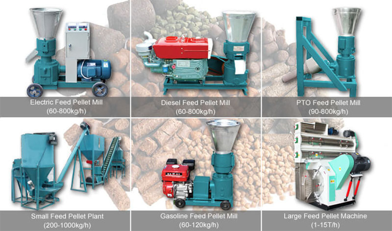 Classification Of The Feed Making Machine