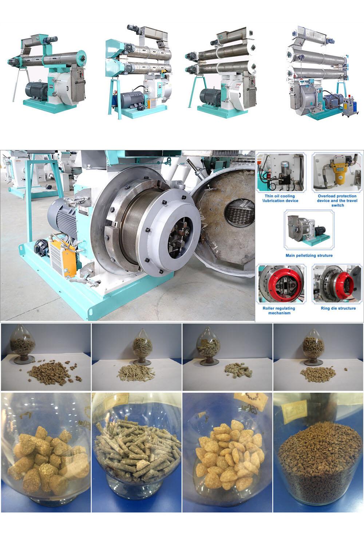 High Efficiency Ring Die Feed Pellet Mill Machine
