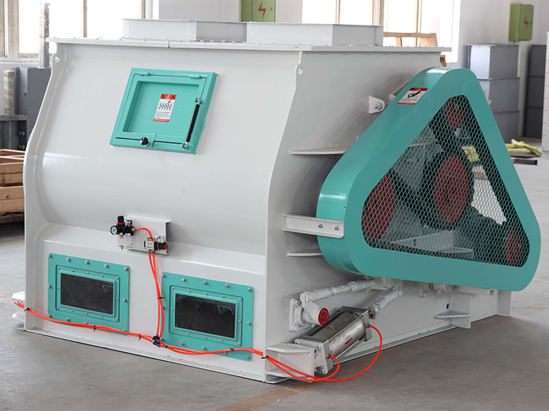 Biaxial Efficient Mixer SSHJ Mixing Machine Manufacturer