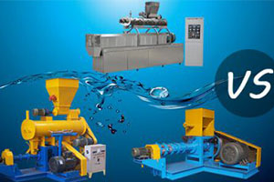 Comparison Between Single And Twin Screw Fish Feed Extruder