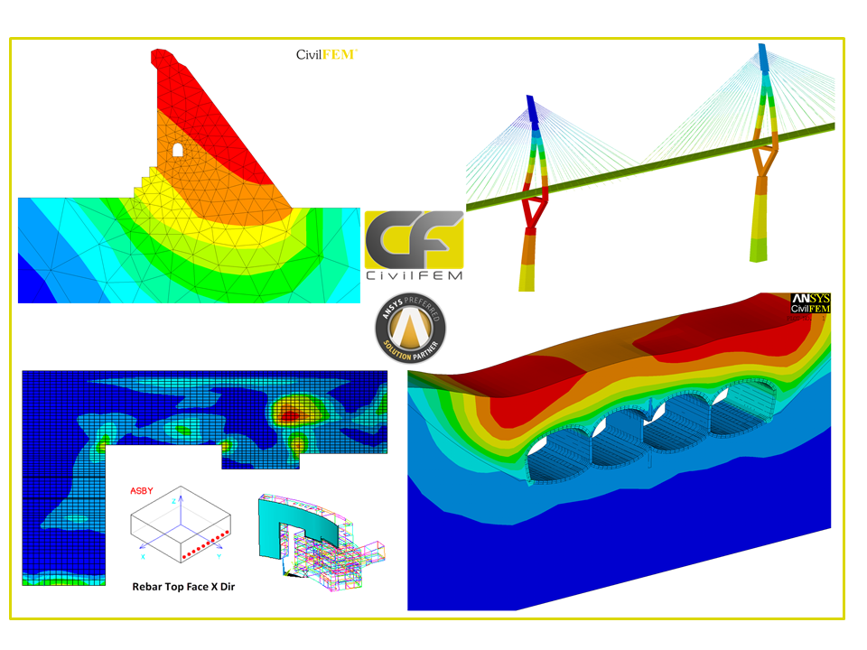 CivilFEM for ANSYS® 19.1 version Release