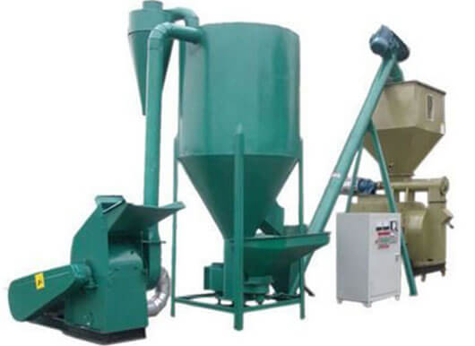 Feed Mill Equipment Manufacturer Small Poultry Feed Production Line